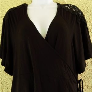 Crochet Shoulder Torrid Wrap Tunic